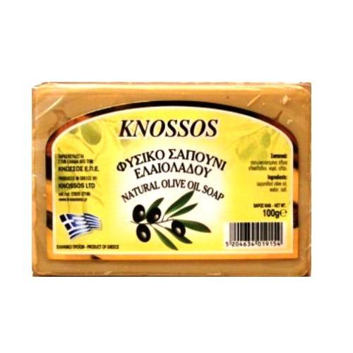 оливковое мыло белое knossos 1