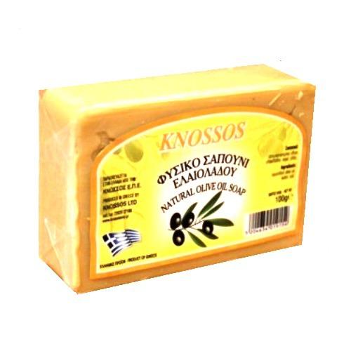 оливковое мыло белое knossos