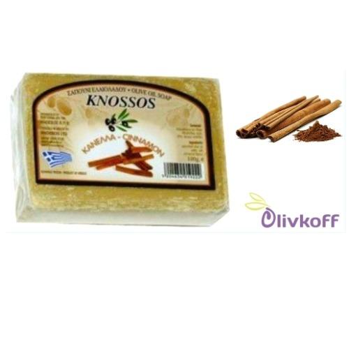 оливковое мыло с корицей knossos