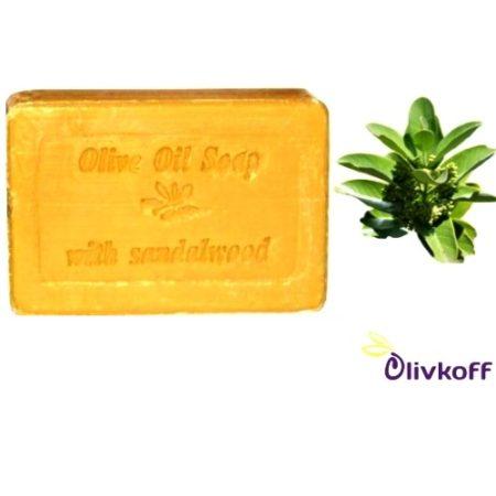оливковое мыло с сандалом knossos